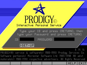 Prodigy login screen image